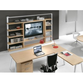 Libreria porta-TV Archimede - Armetta Office